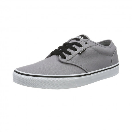 Vans Mens Atwood Canvas Shoes Trainers Frost | Jean Scene