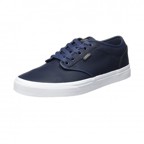 Vans Men's Atwood Leather Shoes Parisian White | Jean Scene