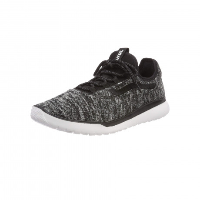 Vans Men's Cerus Lite Knit Shoes Black White   Jean Scene