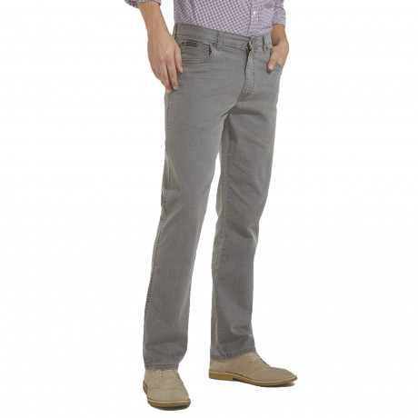Wrangler Texas Stretch Jeans Light Quiet Grey | Jean Scene