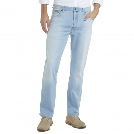 Wrangler Texas Stretch Denim Jeans Super Light | Men's Wrangler Jeans | Jean Scene