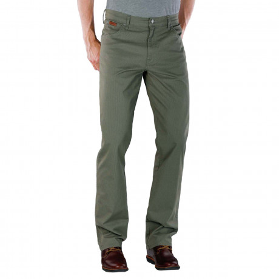 Wrangler Texas Stretch Summer S4 Fabric Jeans Moss Green | Jean Scene