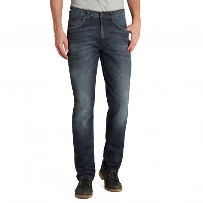 Wrangler Arizona Stretch Denim Jeans Husky Black