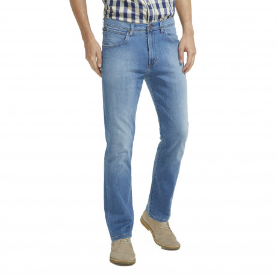 Wrangler Arizona Stretch Denim Jeans Tagged Up Blue | Jean Scene