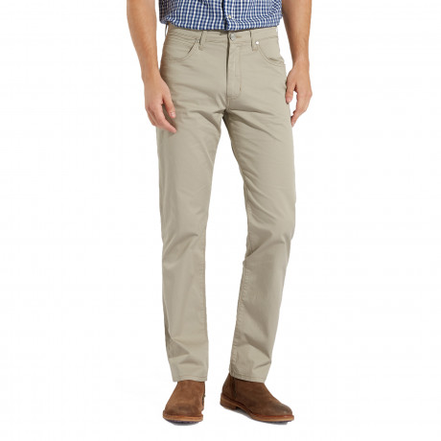 Wrangler Arizona Stretch Summer OO Fabric Jeans Vintage Khaki | Jean Scene