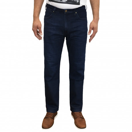 Wrangler Arizona Stretch Soft Luxe Denim Jeans Soft Hill | Men's Wrangler Jeans | Jean Scene
