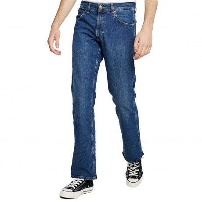 Wrangler Jacksville Bootcut Denim Jeans Blue Heat | Jean Scene