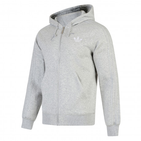 adidas Originals Men's Sport Hooded Sweatshirt Hoodie Grey | Jean Scene