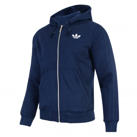 adidas Originals Men's Sport Hooded Sweatshirt Hoodie Navy | Jean Scene