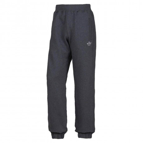 adidas Originals Trefoil Fleece Pants Charcoal Grey Silver