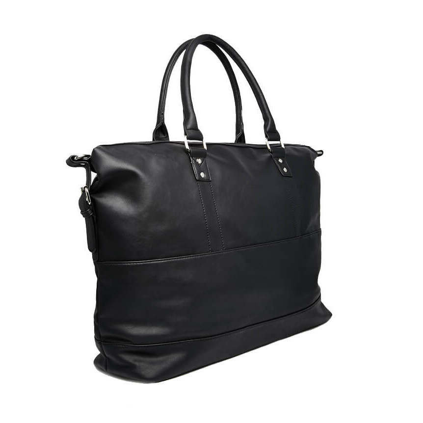 417e1bdc79 French Connection Holdall Twin Handle Large Travel Bag Tote Black | Jean  Scene