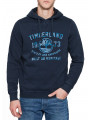 Timberland Fort Hill Logo Hooded Sweatshirt Dress Blue