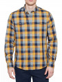 Timberland Stonybrook Herringbo Check Shirt Slim Fit Cyber Yellow