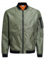 Jack & Jones Justin Fashion MA1 Lightweight Jacket Deep Lichen