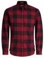 Jack & Jones Originals Frisk Check Long Sleeve Shirt Samba