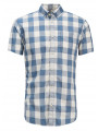 Jack & Jones Originals Boise Check Short Sleeve Shirt Cloud Dancer