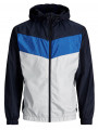 Jack & Jones Hooded Zip Through Jacket Sky Captain