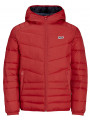 Jack & Jones Originals Bend Light Puffer Jacket Scarlet