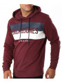 Jack & Jones Core Block Overhead Hoodie Port Royale