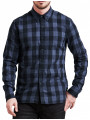 Levi's® Pacific Woodchuck Check Shirt Sky Captain