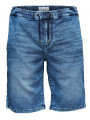 Only & Sons Linus Denim Jog Shorts Blue