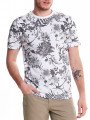 Only & Sons Crew Neck Solomon Print T-shirt White