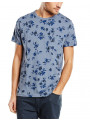 French Connection Ink Floral T-shirt Flintstone