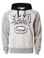 Ecko Hoodie Fleece Sweatshirt Grey Marl