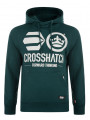 Crosshatch Kayo Hoodie Pacific Blue