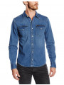 Lee Western Denim Shirt Regular Fit Blue Stance