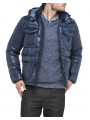 Lee Loco Puffer Jacket Navy Blue
