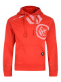 Crosshatch Pacific Hoodie High Red