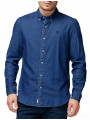 Timberland Classic Chambray Shirt Slim Fit Dark Wash