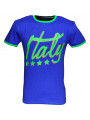 Soul Star World Cup Italy T-shirt Blue