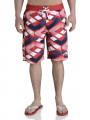 Smith & Jones Beach Swim Shorts & Flip Flop Set Latitude Red