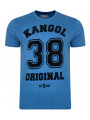 Kangol Original 38 Crew Neck Print T-shirt Blue