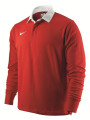 Nike Adult Classic Long Sleeve Rugby Top Red