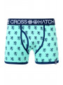 Crosshatch Men's Pattern Boxer Short Bemuda