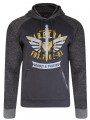 Firetrap Overhead Men's Hoodie Dark Shadow