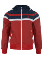 Kangol Men's Halbert Hooded Jacket Red