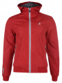 Kangol Men's Batnum Hooded Jacket Red
