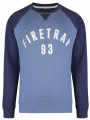 Firetrap Crew Neck Printed Sweatshirt Captain Blue