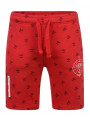 Firetrap Casual Bostall Cotton Jogger Shorts Racing Red