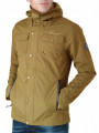 Crosshatch Hooded Rainout Casual Jacket Otter