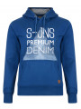 Smith & Jones Dartford Hoodie True Blue