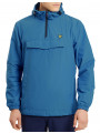 Lyle & Scott Hooded Overhead Anorak Jacket Lake Blue
