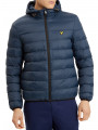 Lyle & Scott Hooded Padded Puffer Jacket Navy