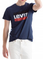Levis 84 Sportswear Logo T-Shirt Dress Blues