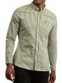 Lyle & Scott Gingham Check Shirt Long Sleeve Woodland Green