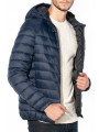 Jack & Jones Mesa Hooded Puffer Jacket Sky Captain